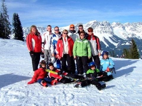 Skifahren Scheffau