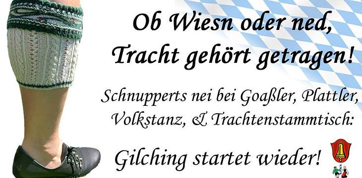 Gilching startet wieder. Starte mit!